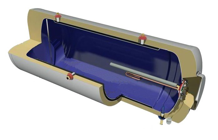 solar water heater boiler specifications 2